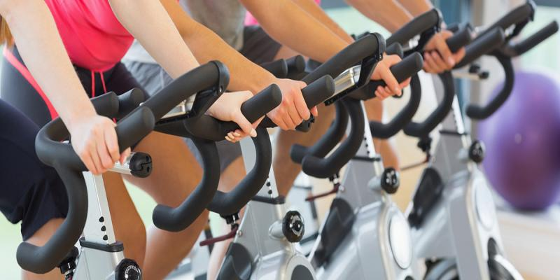 Indoor cycling image.